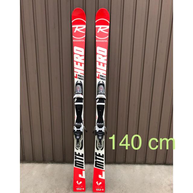 ROSSIGNOL(ロシニョール)のロシニョール ジュニア用スキー板140 cm 美品 試走1回 スポーツ/アウトドアのスキー(板)の商品写真