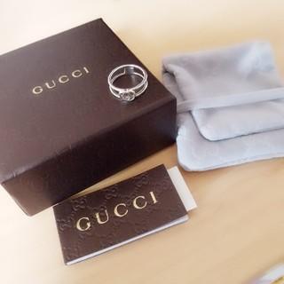 Gucci - 正規品!!GUCCI インターロッキングシルバーリング