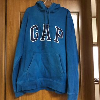 GAP - GAP パーカー ブルー sizeM