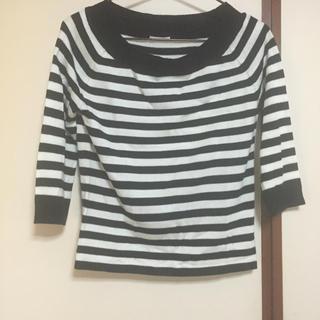 ジーユー(GU)の7部丈 トップス(Tシャツ(長袖/七分))