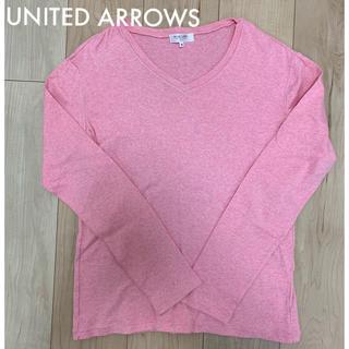 ユナイテッドアローズ(UNITED ARROWS)のmen's 【 UNITED ARROWS 】VネックロンT(Tシャツ/カットソー(七分/長袖))