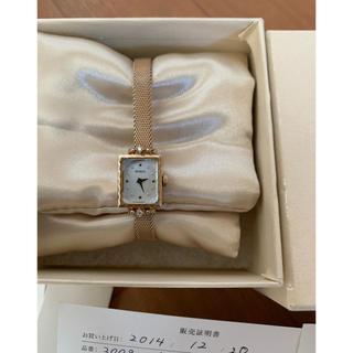NOJESS - ノジェス スクエアフェイスウォッチ ダイヤ付き ビジューウォッチ 腕時計