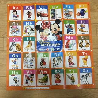 ミッキーマウスABCポスター