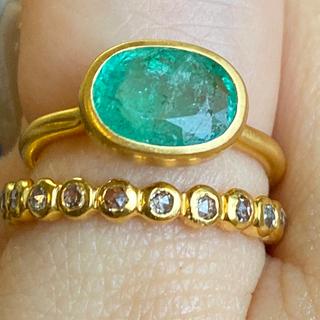発光エメラルド k18ゴールド リング 検索 マリーエレーヌ ジェムパレス(リング(指輪))