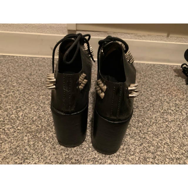 JEFFREY CAMPBELL(ジェフリーキャンベル)のジェフリーキャンベル ラバーソール レディースの靴/シューズ(ローファー/革靴)の商品写真