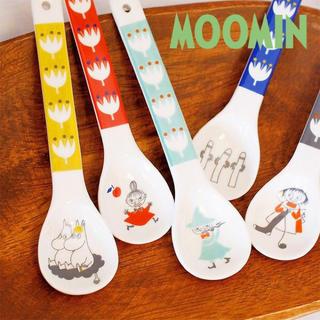 リトルミー(Little Me)のムーミン 陶器スプーン 5本セット(カトラリー/箸)
