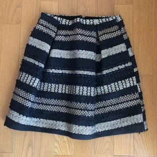 トゥモローランド(TOMORROWLAND)のトゥモローランド ツイードスカート (ひざ丈スカート)