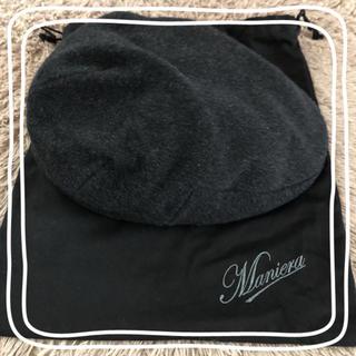 ビームス(BEAMS)の【美品】MANIERA(マニエラ) キャスハンチング(ハンチング/ベレー帽)