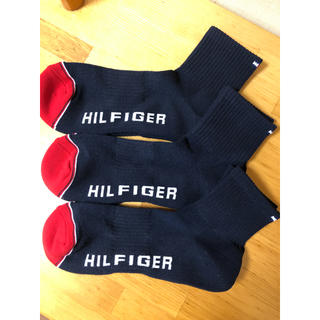 トミーヒルフィガー(TOMMY HILFIGER)の速乾性 TOMMY HILFIGER メンズサイズ  3足セット(ソックス)