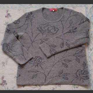 エマニュエルウンガロ(emanuel ungaro)のUngaro 薔薇のセーター(ニット/セーター)
