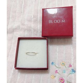 ブルーム(BLOOM)のbloom ピンキーリング エタニティーリング(リング(指輪))