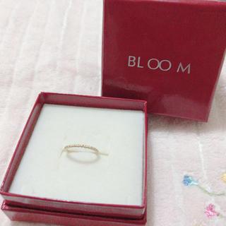 ブルーム(BLOOM)のbloom ピンキーリング 小さなハート(リング(指輪))