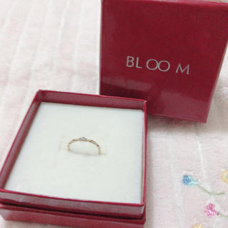 BLOOM - bloom ピンキーリング 小さな石