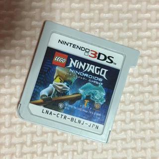ニンテンドー3DS(ニンテンドー3DS)のLEGO ニンジャゴー ニンドロイド 3DS ソフト(家庭用ゲームソフト)