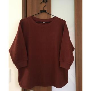 ユニクロ(UNIQLO)のユニクロ ワッフル 七分袖(Tシャツ(長袖/七分))