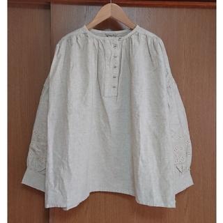 SM2 - [新品] SM2 袖刺繍ブラウス