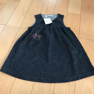 familiar - 新品 ファミリ*ジャンパースカート