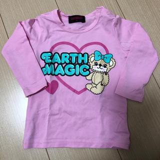 アースマジック(EARTHMAGIC)のアースマジック☆Tシャツ☆ロンT☆90(Tシャツ/カットソー)