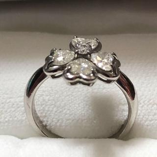 最終値下げ‼️四葉のクローバーダイヤモンドリング(リング(指輪))