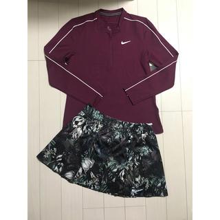 NIKE - ナイキ  テニスウェア シャツ・スカート2点セット