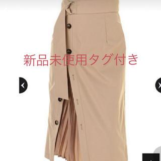 Mystrada - 新品未使用タグ付き マイストラーダ  ★プリーツコンビトレンチスカート