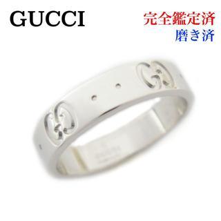 グッチ(Gucci)の新品仕上げ GUCCI グッチ アイコン リング K18WG 750 9号 指輪(リング(指輪))