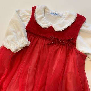 ファミリア(familiar)のファミリア ロンパースワンピースセット(セレモニードレス/スーツ)