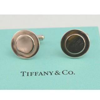 Tiffany & Co. - 【USED】TIFFANY&CO. ティファニー カフスボタン シルバー