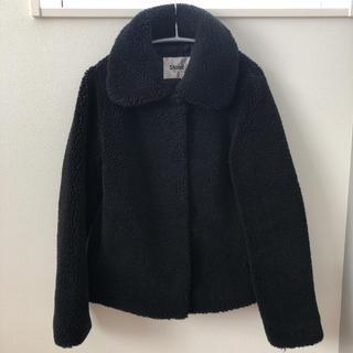 エディション(Edition)のStand エディション コート ジャケット ボア ブラック 34(毛皮/ファーコート)