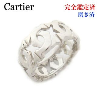 カルティエ(Cartier)の磨き済 Cartier カルティエ アントルラセ リング K18WG 9号(リング(指輪))