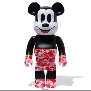 アベイシングエイプ(A BATHING APE)のBE@RBRICK BAPE MICKEY MOUSE  1000%(その他)