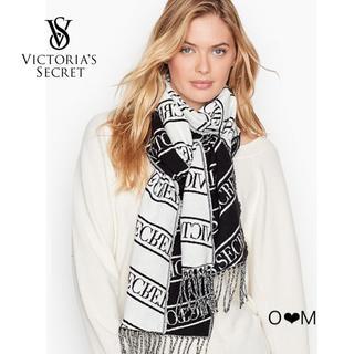 Victoria's Secret - Victoria's Secret  マフラー/ブラック・ホワイト