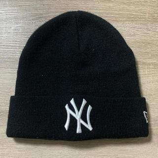 ニューエラー(NEW ERA)のニューエラ ニット帽 ヤンキース 美品(ニット帽/ビーニー)