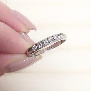 指輪 プラチナ900 ダイヤ0.31ct(リング(指輪))