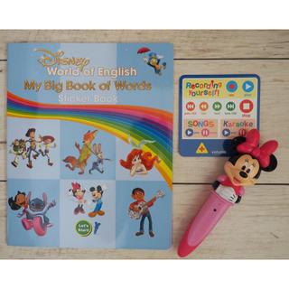 Disney - ステッカーブック&ミニーマジックペン DWE
