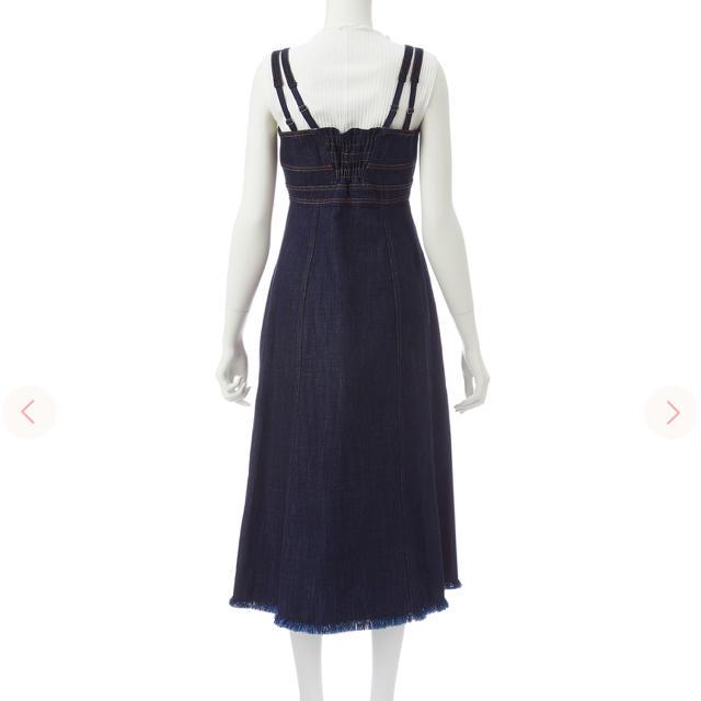 COCO DEAL(ココディール)の配色ステッチジャンパースカート レディースのワンピース(ロングワンピース/マキシワンピース)の商品写真