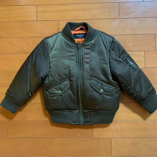COMME CA ISM - 未使用品☆COMME CA ISM MA-1 ジャケット キッズ 100