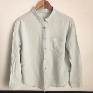 ジーユー(GU)のGU シャツ レディース(シャツ/ブラウス(半袖/袖なし))