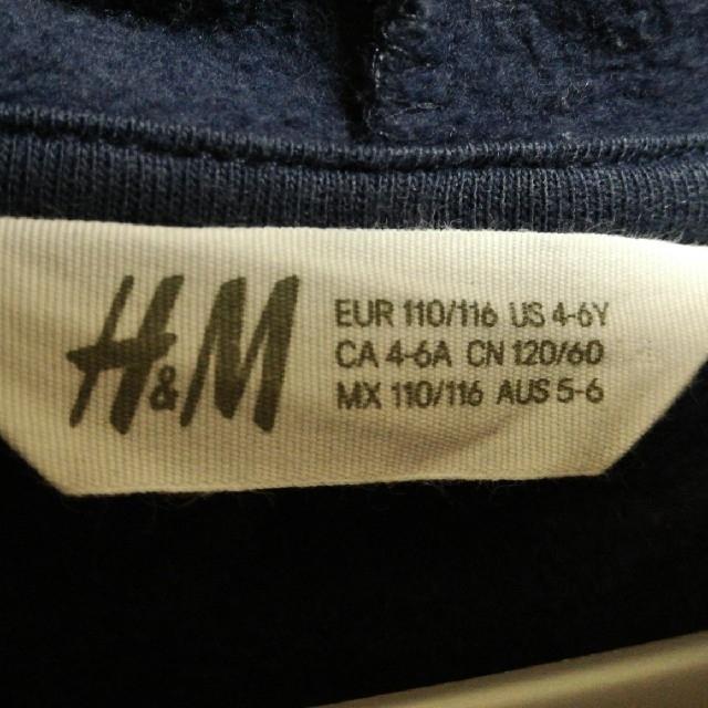 H&M(エイチアンドエム)のH&M アニマルパーカー キッズ/ベビー/マタニティのキッズ服 男の子用(90cm~)(ジャケット/上着)の商品写真