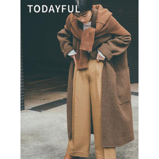 TODAYFUL -  TODAYFUL Over Check Coat