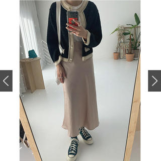 TODAYFUL - NUGU サテンスカート