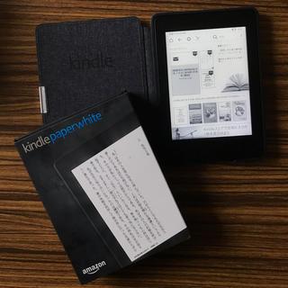 Apple - 【期間限定出品】美品kindle Paperwhite本体+純正レザーカバー+箱
