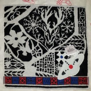 Vivienne Westwood - 最新作冬物🎄クリスマス新柄🎄タオルハンカチ⛄ヴィヴィアンウエストウッドTBK