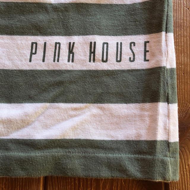PINK HOUSE(ピンクハウス)のお値下げ中❣️垂れ耳うさぎ🐰ボーダートレーナー🌸 レディースのトップス(トレーナー/スウェット)の商品写真