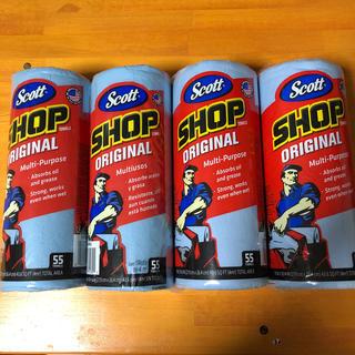 コストコ(コストコ)のScott  SHOP TOWELS  55枚x4ロール(メンテナンス用品)
