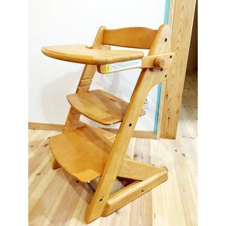Combi mini - コンビミニ コンフォートグローフィットチェア ハイチェア赤ちゃん椅子ベビーチェア