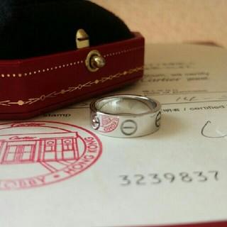 カルティエ(Cartier)の*8号*カルティエラブリング(リング(指輪))