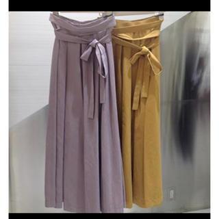 ココディール(COCO DEAL)の紗栄子着用 スウェードスカート(ロングスカート)