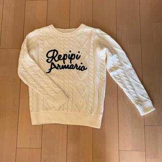 レピピアルマリオ(repipi armario)のレピピアルマリオ  セーター  M(ニット)