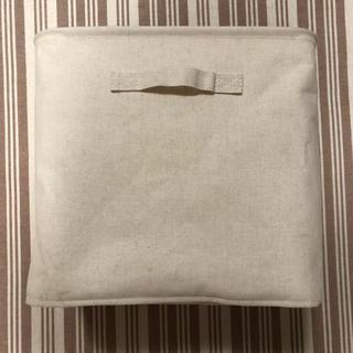 MUJI (無印良品) - 無印良品 ポリエステル綿麻混 ソフトボックス 2個セット